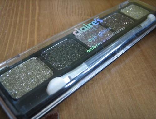 Glitter pallet Clairs