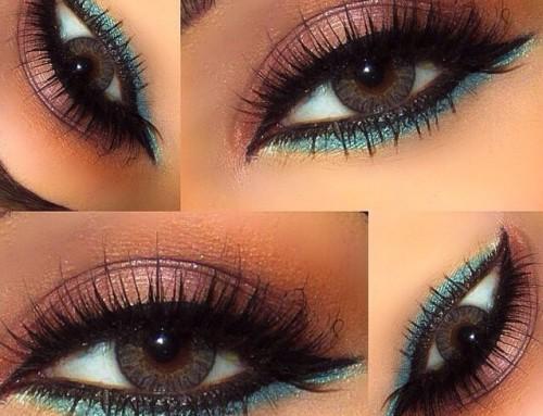 Omdat normaal eyeliner aanbrengen nog niet lastig genoeg is…