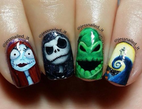 Halloween Nail-art 2015