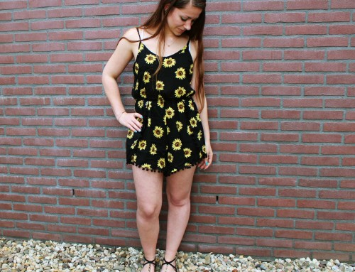 OOTD: Sunflower Playsuit