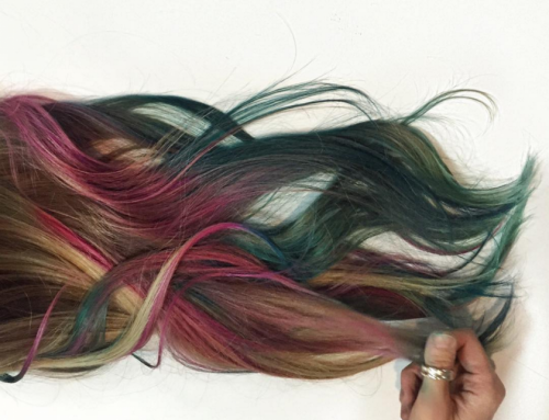 Colourful Hair do