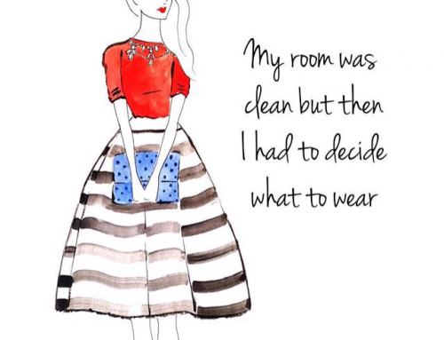 When you don't know what to wear…