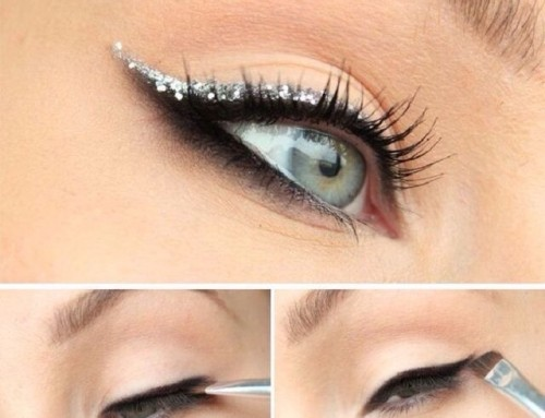 Christmas Make-up tutorial #1