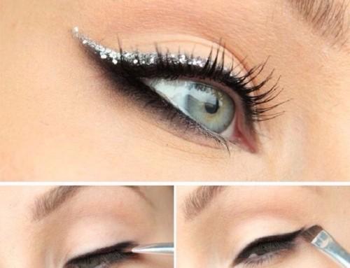 Christmas Make-up tutorial #1