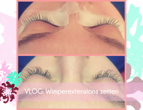 VLOG: Wimperextensions zetten