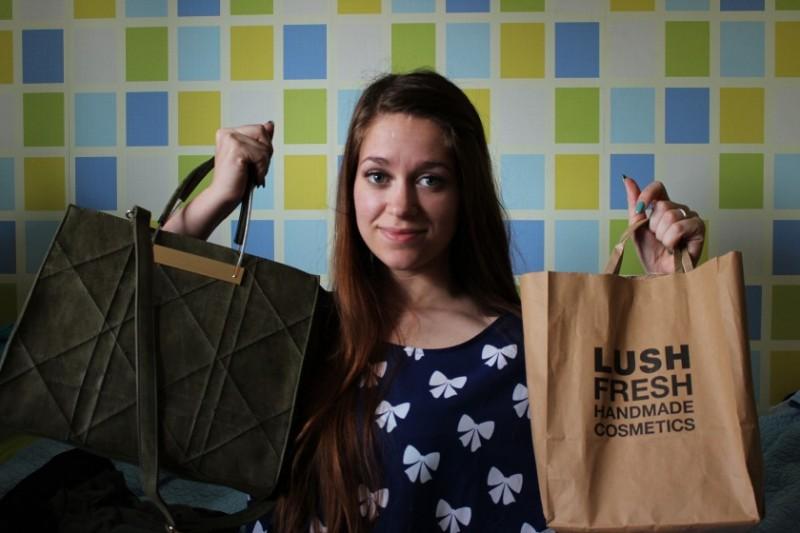 Shoplog H&M, Primark en Lush