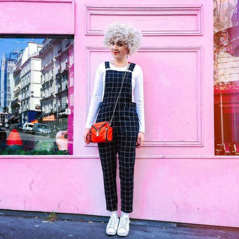 Outfit met tuinbroek