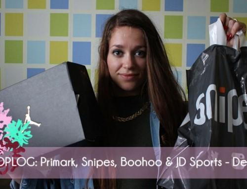 Shoplog: Primark, Snipes, Boohoo & JD Sports – Deel 1