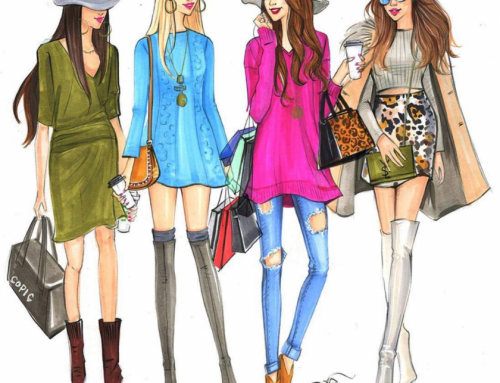 Fashion drawing inspiratie