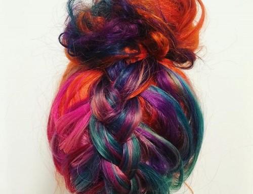 Do or don't: Rainbow hair!