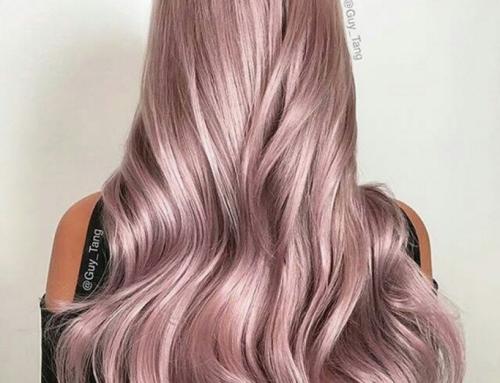 Deze haarkleur moet je even zien!