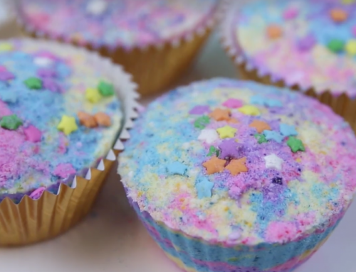 DIY: Cupcake Bath Bombs