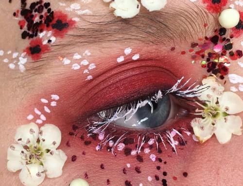 Terrarium eyes; een bloemig kunstwerkje!