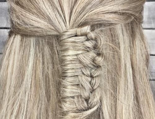 Nieuwkomer onder de hairdo's: de Chinese staircase braids!