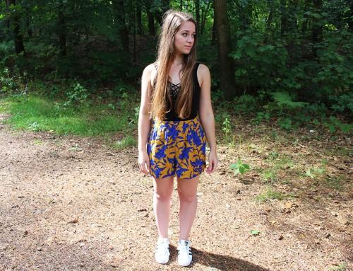 OOTD: Zonnige shorts voor de laatste zomerse dag
