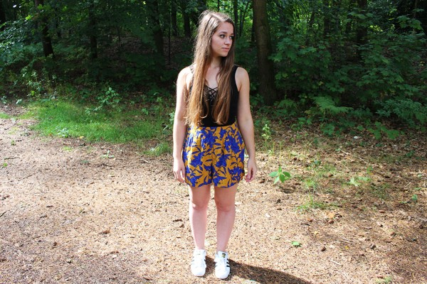 OOTD Zonnige shorts outfit