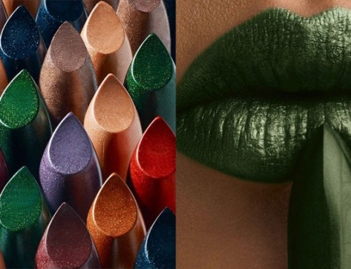 Metallic lips; beauty statement herfst 2017