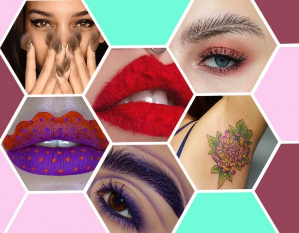 Bizarre beauty trends 2017