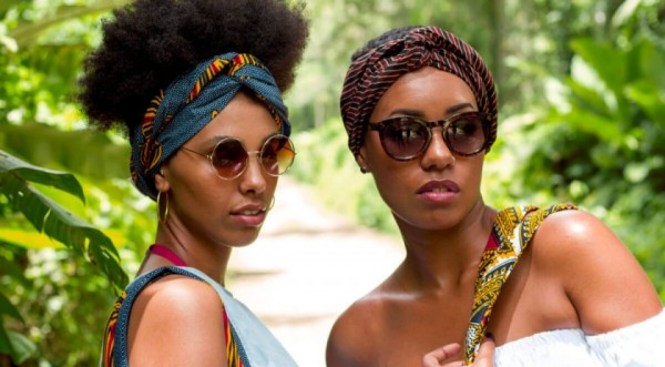 Headwraps Talking Prints