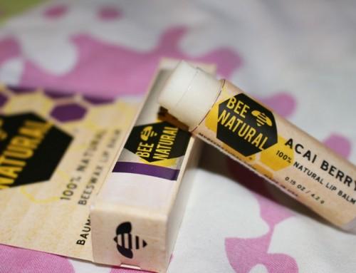 Bee Natural lip balm; 100% natuurlijke Beewax lip balm
