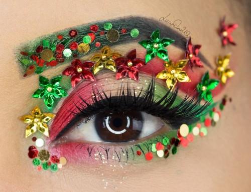 Kerst make-up op een hoger niveau