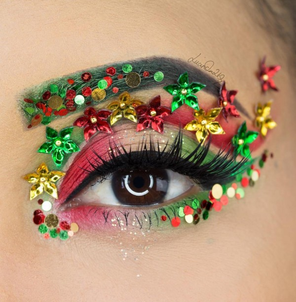 Kerst make-up