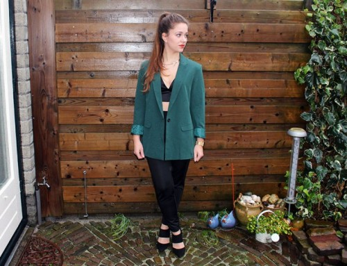 New Year's Eve OOTD: Classy in green
