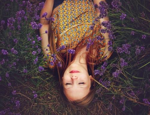 Lekkerder slapen door lavendel