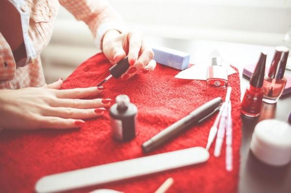 Lente-achtige nail-art