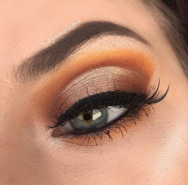 Oranje make-up