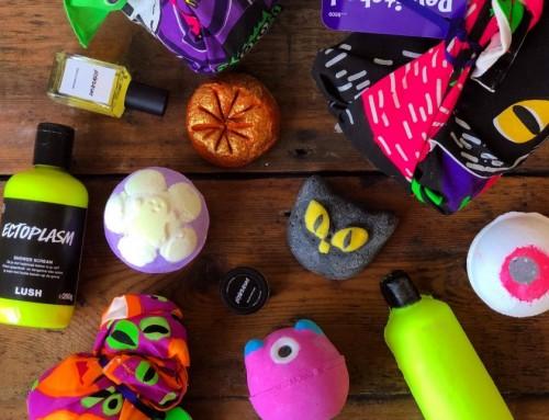 Een griezelig goed ruikende Halloween met Lush